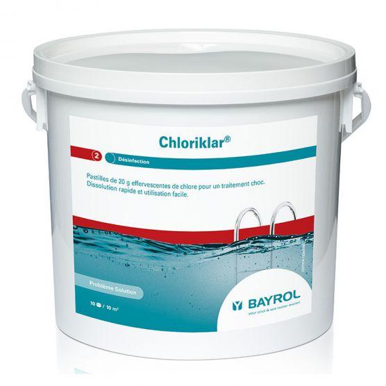 Chlore choc Chloriklar bayrol (5kg)