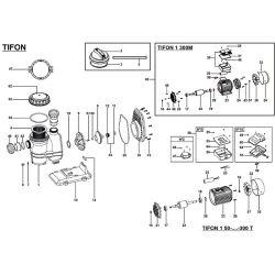 Couvercle de préfiltre pompe Tifon de Espa