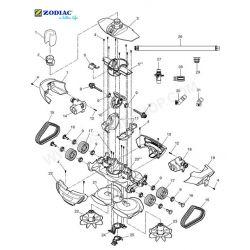 Logement central moteur robot MX8