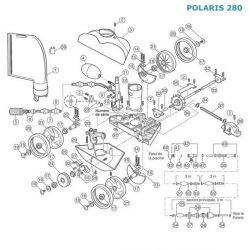 Tuyau d'alimentation de turbine Polaris 280