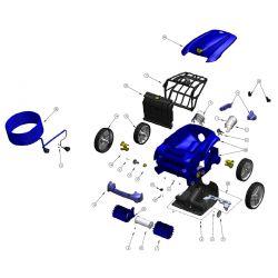 Clavier souple robot Zodiac Vortex 4